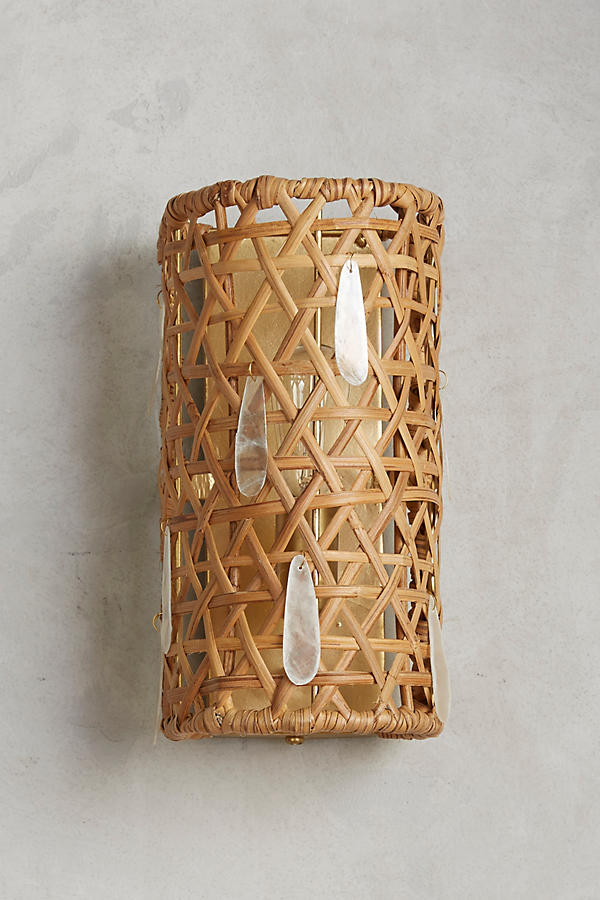Slide View: 1: Paillette Sconce