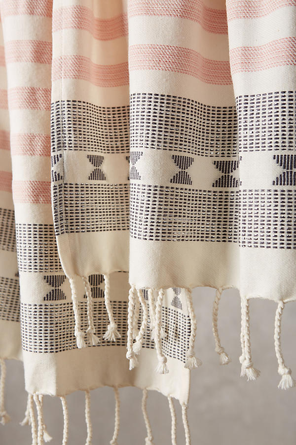 Slide View: 2: Crosshatched Taza Dish Towel Set