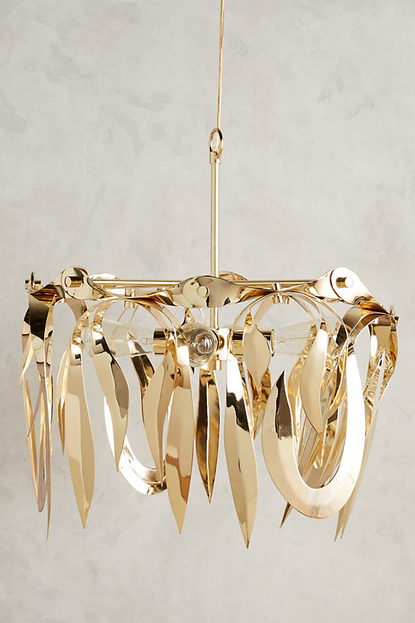 Toia Chandelier - Bronze