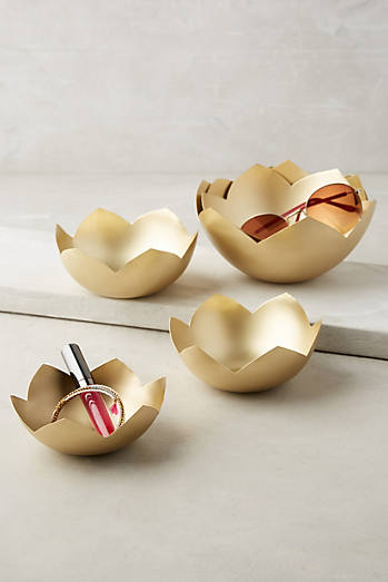 Lotus Decorative Nesting Bowls