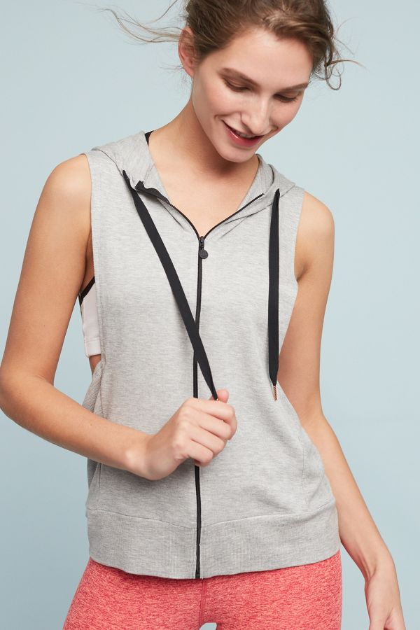 Beyond Yoga Behavior Hooded Vest