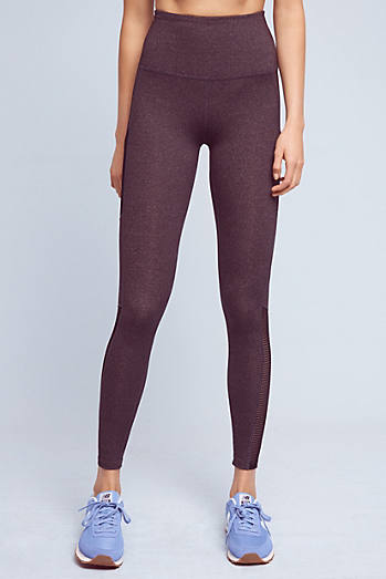 Mesh Behavior High-Waisted Leggings