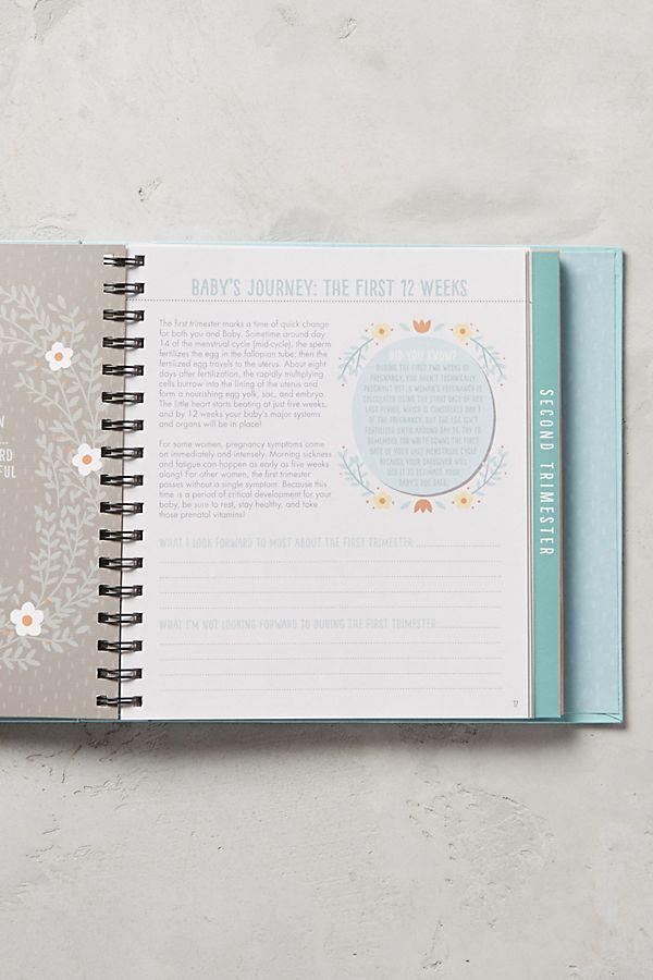 bump for joy pregnancy journal anthropologie