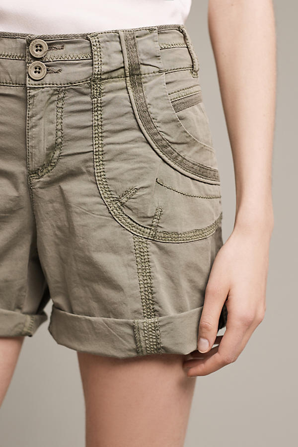Slide View: 3: Katie Roll-Up Shorts