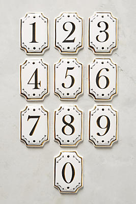 Slide View: 1: Hotel Numeral House Number