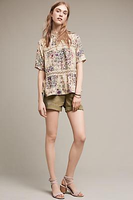 Tenley Roll-Up Shorts