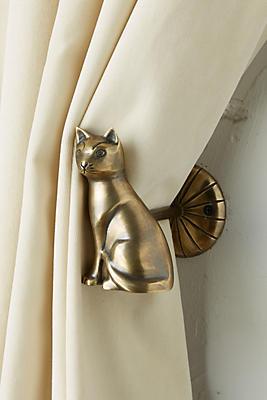 Slide View: 2: Deco Cat Tieback