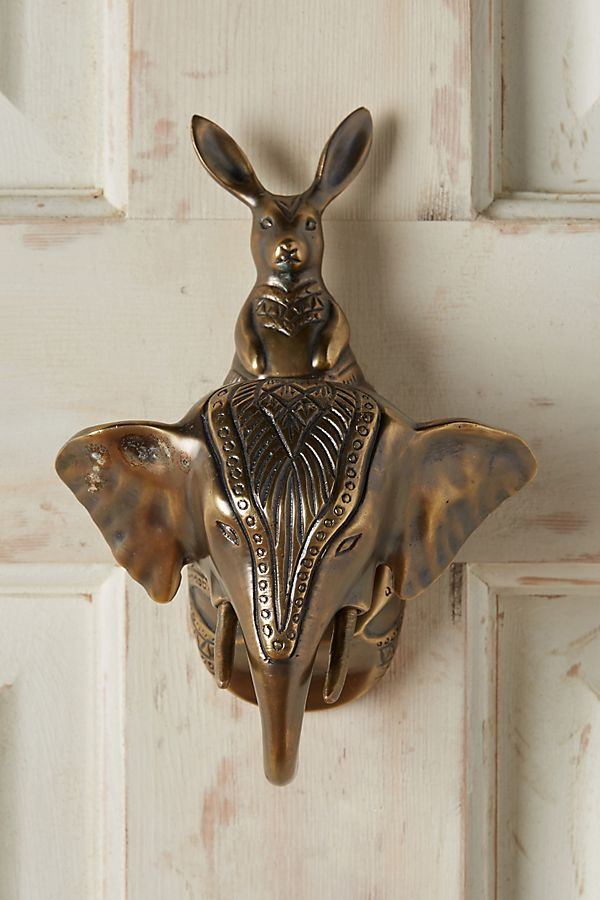 Animal Pairing Door Knocker Anthropologie