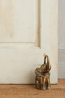 Slide View: 1: Royal Elephant Doorstop