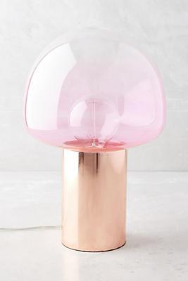 Preferred Rose Gold Table Lamp | Anthropologie EZ93