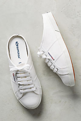 Slide View: 1: Superga Sneaker Mules