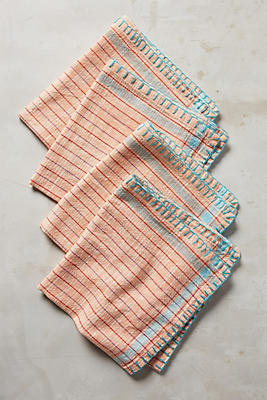 Slide View: 2: Madras Napkin Set