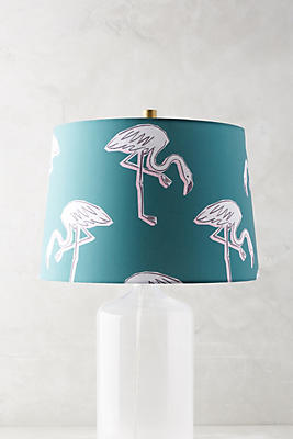 Slide View: 1: Sketched Safari Lamp Shade