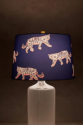 Slide View: 2: Sketched Safari Lamp Shade
