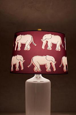 Slide View: 2: Sketched Safari Lamp Shade
