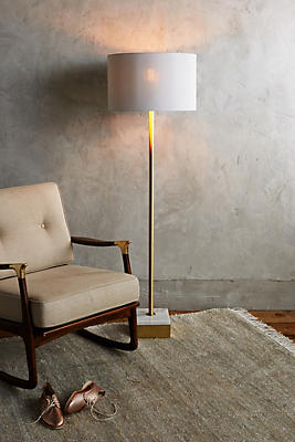 Slide View: 2: Anchorage Floor Lamp
