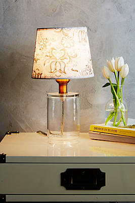 Slide View: 2: Adalet Glass Lamp Ensemble