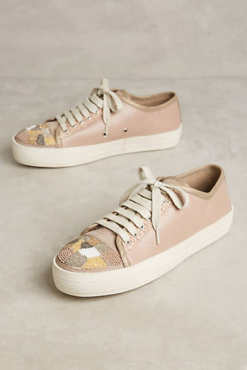 Bibi Lou Beaded Toe Sneakers