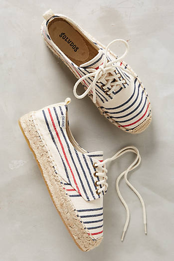 Soludos Striped Canvas Sneaker
