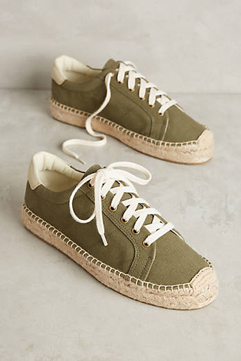 Soludos Army Tennis Espadrille Sneakers