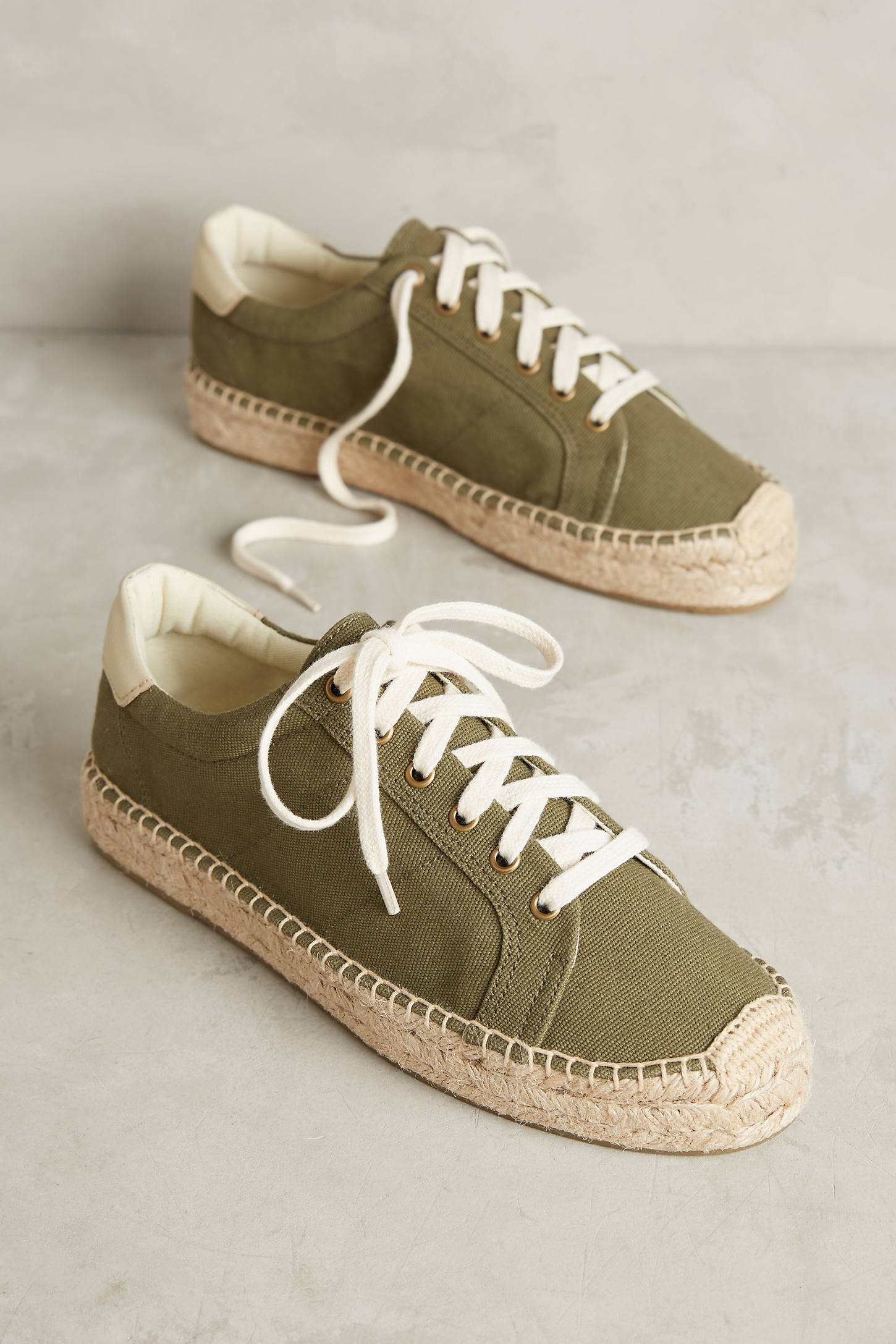 Soludos Army Tennis Espadrille Sneakers