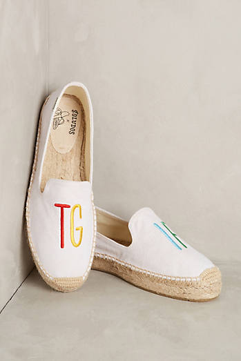 Soludos Embroidered TGIF Espadrilles