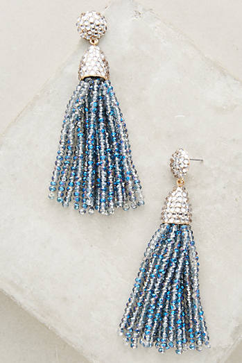 Shimmered Pinata Drop Earrings