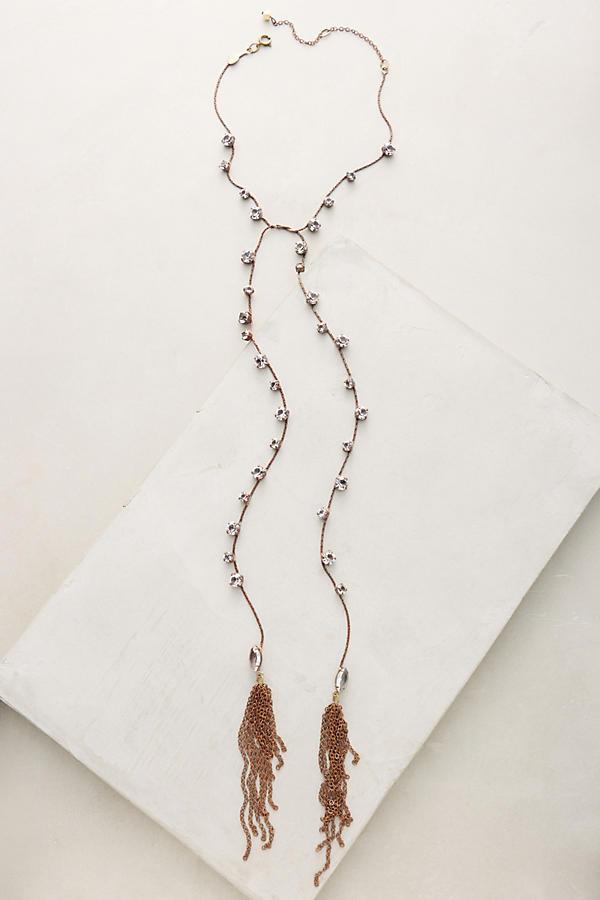 Corinna Lariat Necklace