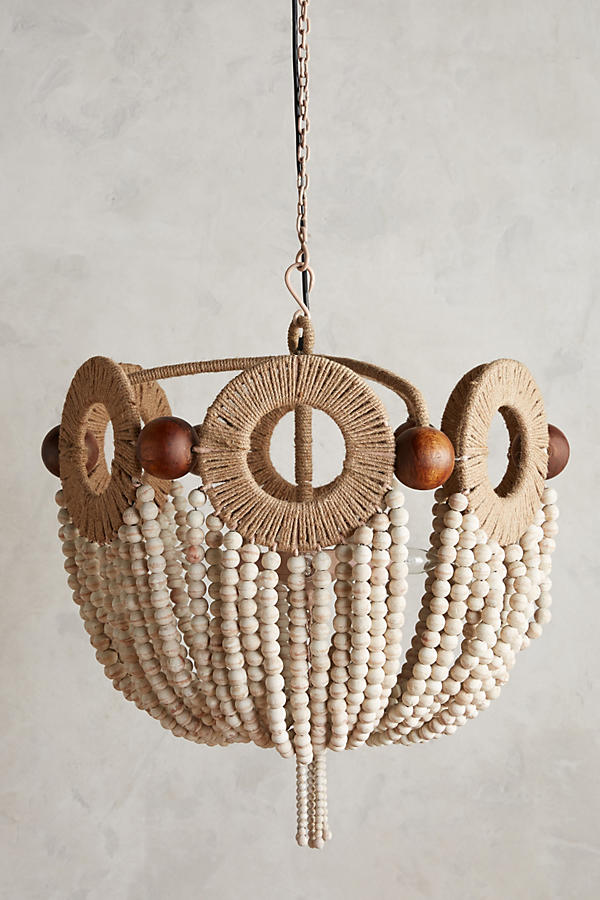 Beadcraft Chandelier | Anthropologie
