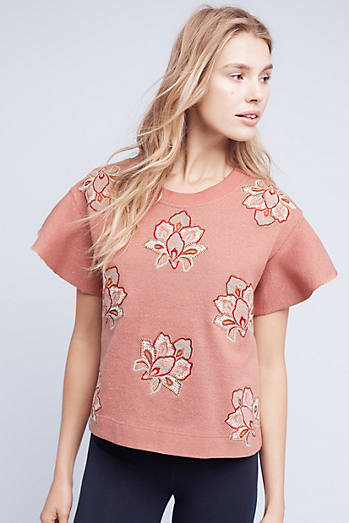 Embroidered Padma Pullover