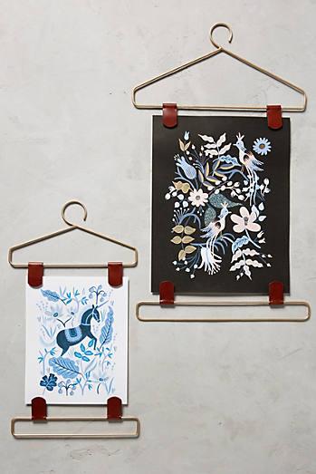 wardrobe print hanger