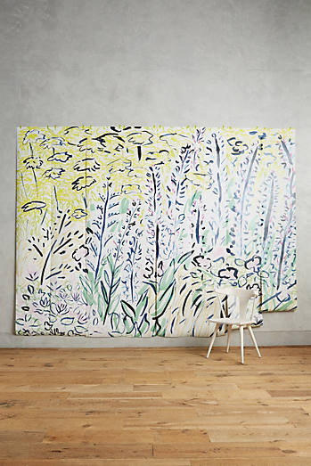 Petaled Meadow Mural