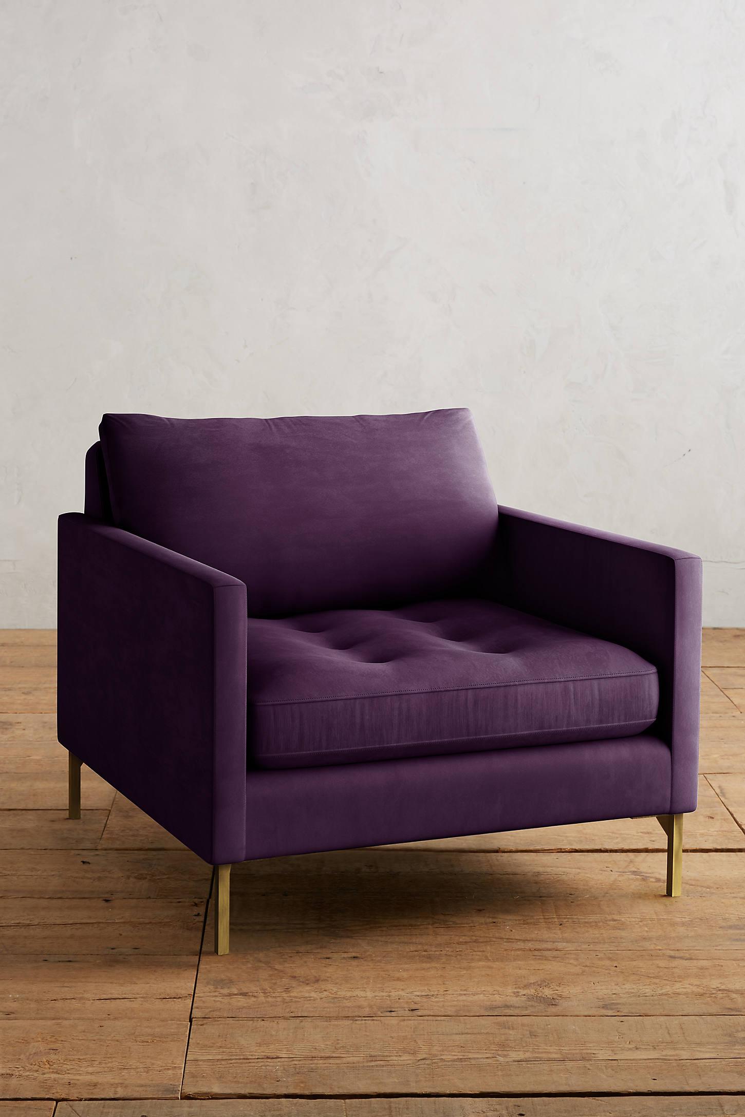 Velvet Angelina Chair