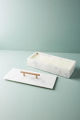 Slide View: 1: Nouvelle Marble Candle Box