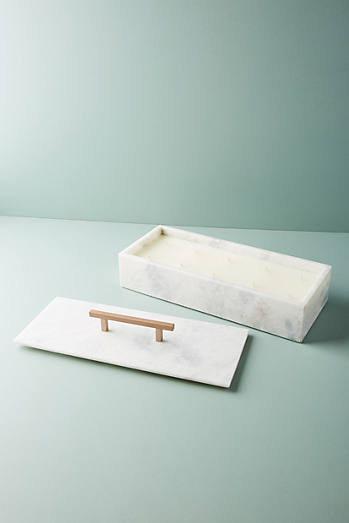 Nouvelle Marble Candle Box