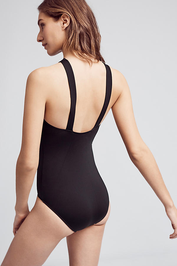 Slide View: 3: Seafolly Active High-Neck One-Piece