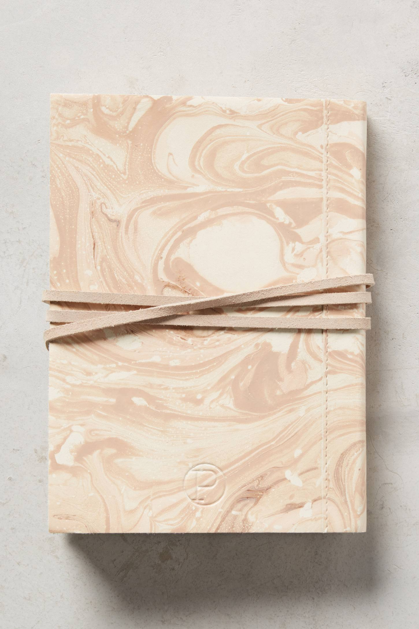 Slide View: 2: Marbled Journal
