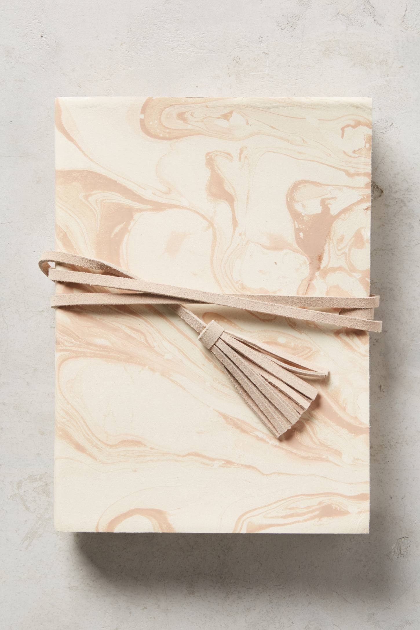 Slide View: 1: Marbled Journal