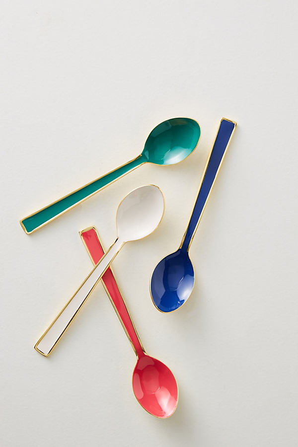 Palette Teaspoon Set - A/s, Size Set Of 4
