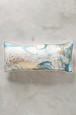 Slide View: 1: Marbled Cosima Pillow