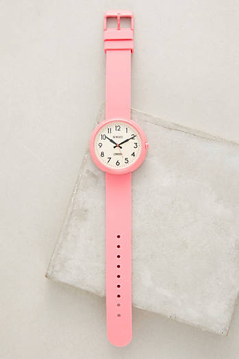 Electric Piglet Pink Watch