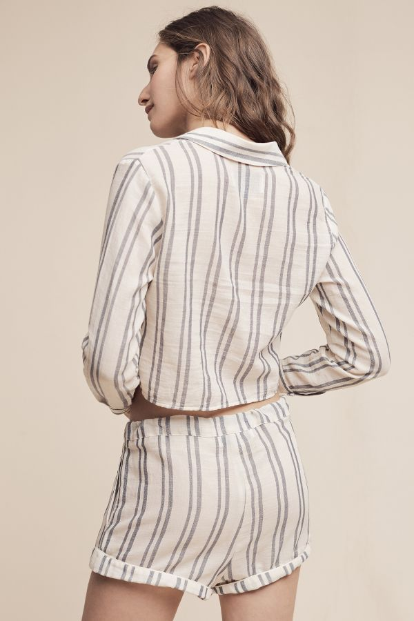 Solid & Striped Solid & Striped Taylor Cropped Buttondown