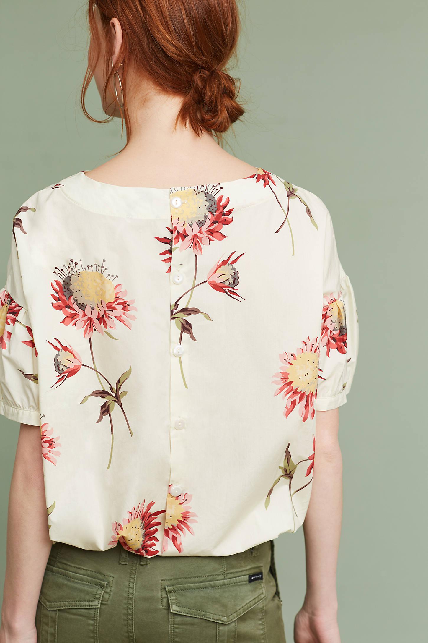 Carlene Floral Top