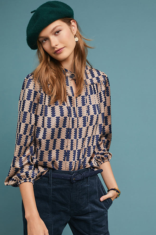 Thales Geometric Blouse - Assorted, Size S
