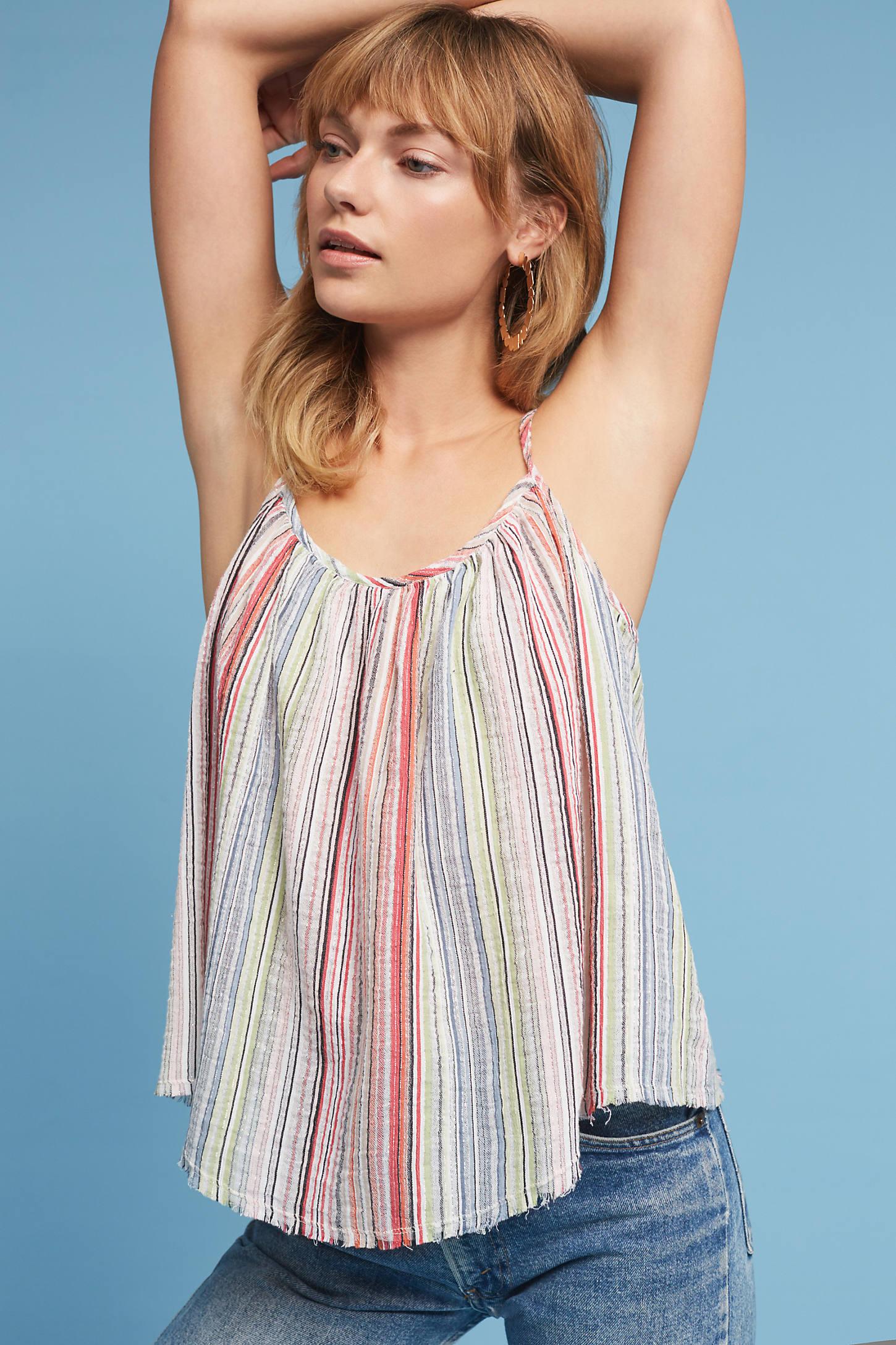 Ibiza Striped Cami