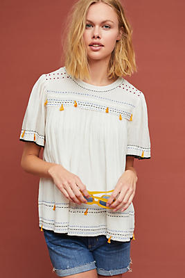 Slide View: 1: Demy Embellished Tee