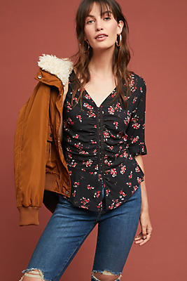 Slide View: 1: Micco Floral Blouse
