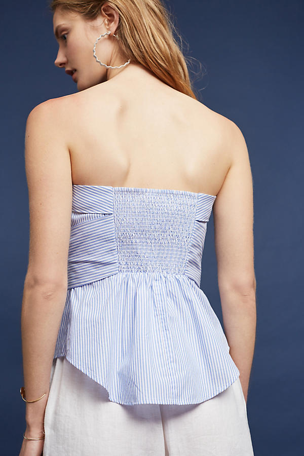 Slide View: 3: Alanna Strapless Blouse