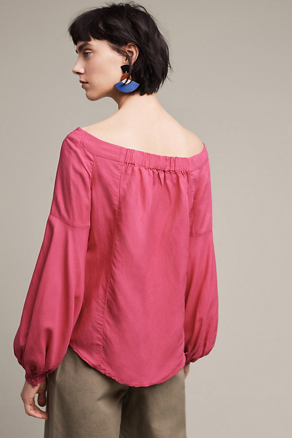 Slide View: 4: Mazza Off-The-Shoulder Top