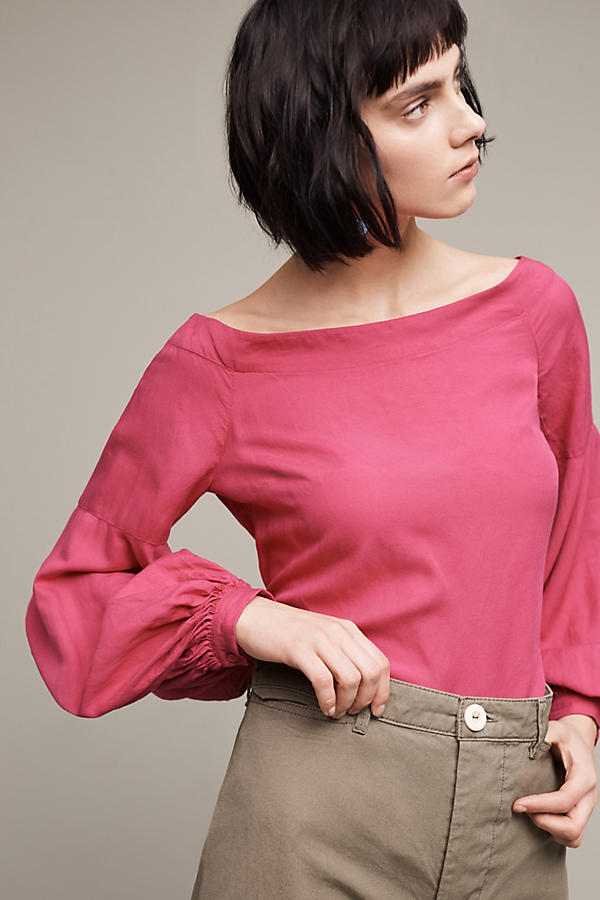 Slide View: 3: Mazza Off-The-Shoulder Top